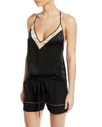 Amour T-Back Silk Camisole and Matching Items