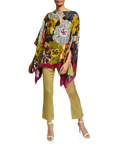 Gauguin Floral Poncho and Matching Items
