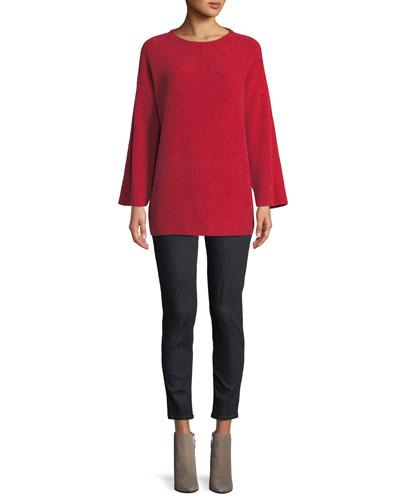 Chenille Organic Cotton Tunic Sweater and Matching Items