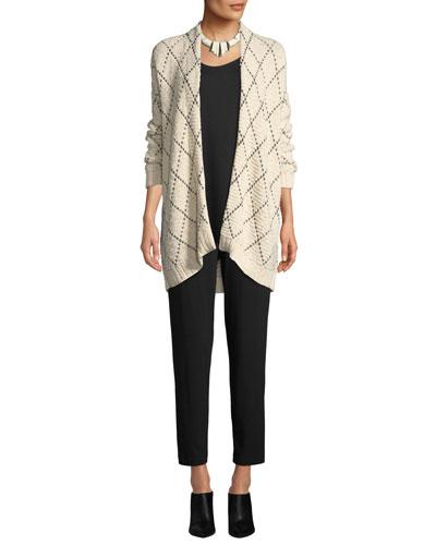 Diamond Kimono Cardigan, Plus Size and Matching Items