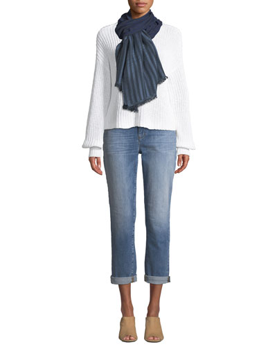 Organic Cotton Drop-Sleeve Sweater and Matching Items