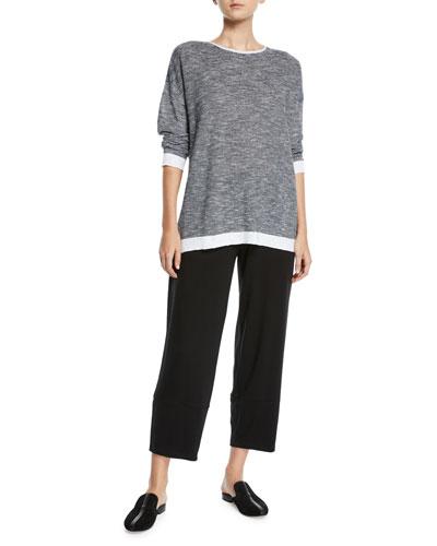 Organic Linen-Cotton Slub Top and Matching Items