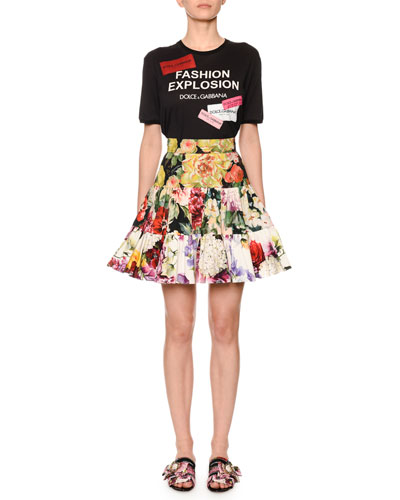 Fashion Explosion Patchwork Logo Tee and Matching Items