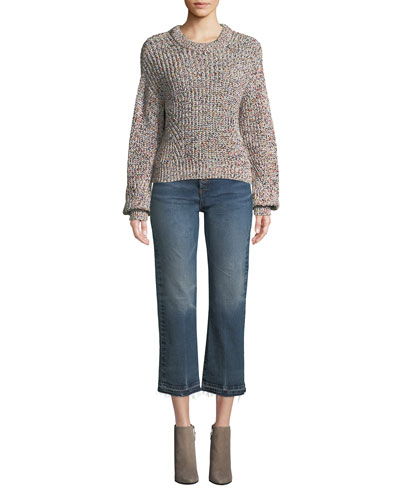 Ryce Cotton Crewneck Pullover Sweater and Matching Items