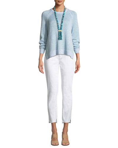 Organic Linen Slub Sweater and Matching Items