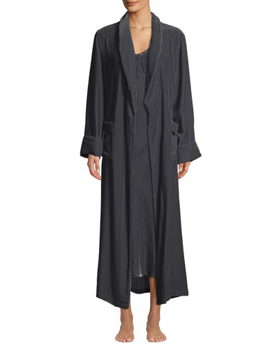 Daniela Velour Long Robe and Matching Items