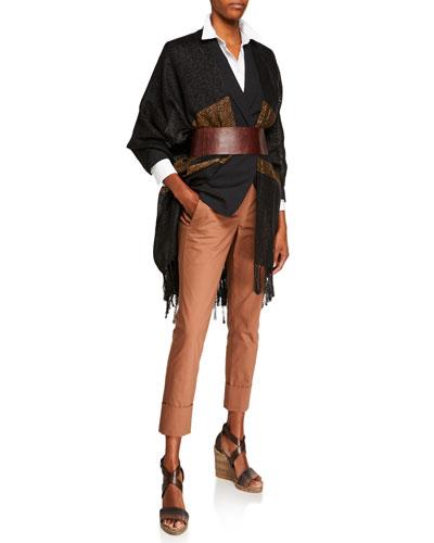 Monili-Beaded Tropical Wool Jacket and Matching Items