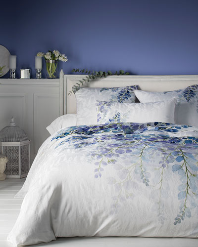Wisteria 300 Thread-Count King Flat Sheet and Matching Items