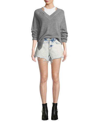 Bi-Layer Ls Raglan Sweater W and Matching Items