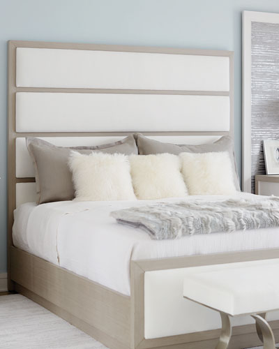 Axiom Tall Upholstered Panel Queen Bed and Matching Items