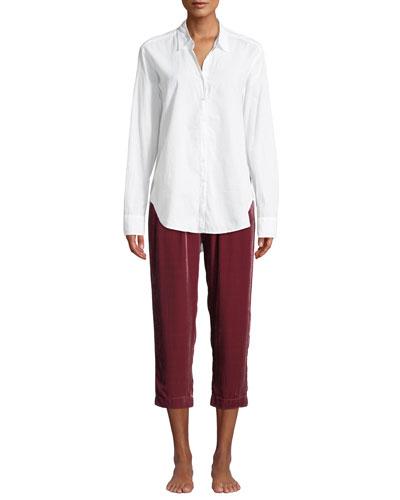 Beau Cotton Lounge Shirt and Matching Items