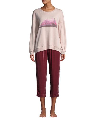 James Desert Graphic Sweatshirt and Matching Items