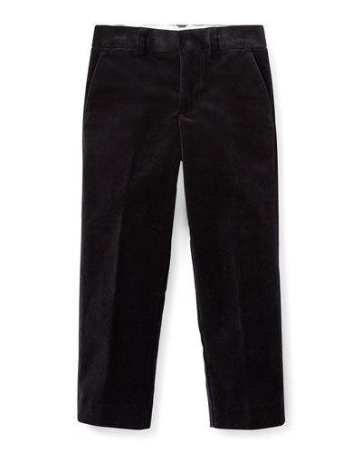 Newport Velvet Straight-Leg Pants, Size 2-4  and Matching Items