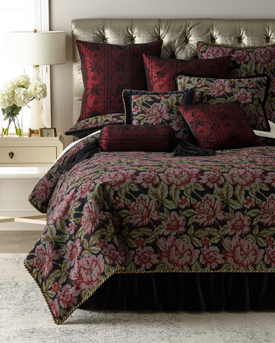 Macbeth Floral Queen Duvet  and Matching Items