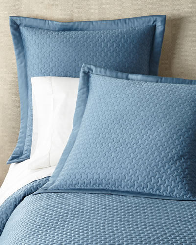 Trinity Quilted King Coverlet  and Matching Items