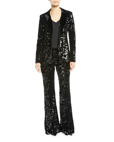 Rashida Sequin Jacket and Matching Items