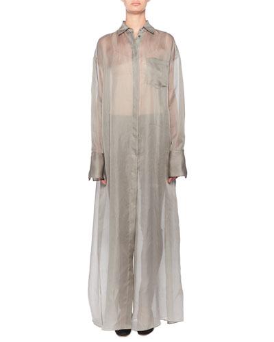 Siena Semisheer Chiffon Shirtdress and Matching Items