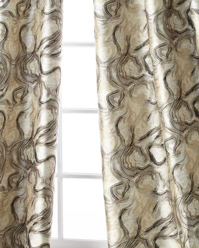 Driftwood Curtain Panel, 96