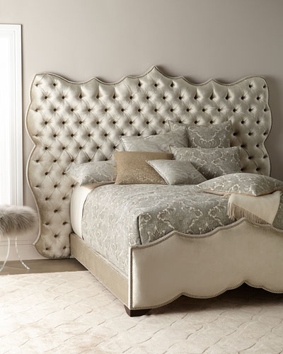Samara Tufted Queen Bed Frame and Matching Items