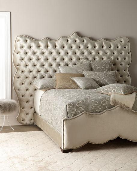 Samara Tufted Queen Bed