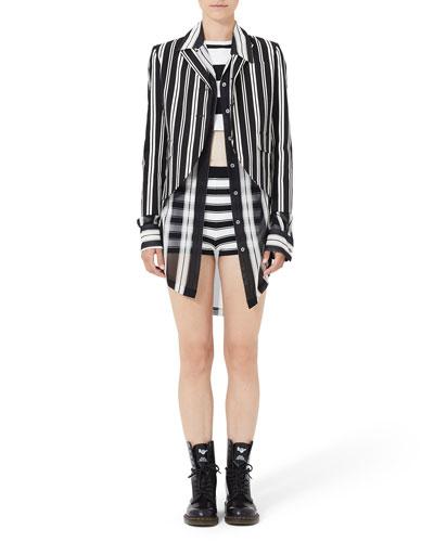 Jkt Stripe 34 Sleeve Boyfrie and Matching Items