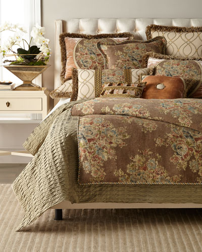 Viburnum Floral Queen Duvet  and Matching Items