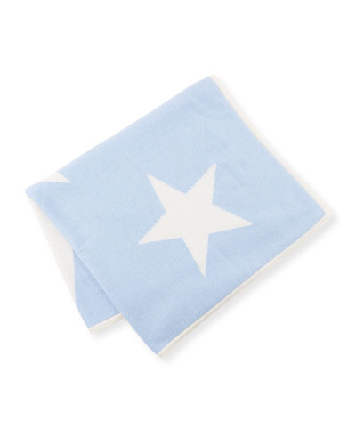 Scattered Stars Cashmere Baby Blanket  and Matching Items