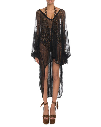 Victorian Lace V-Neck Coverup and Matching Items