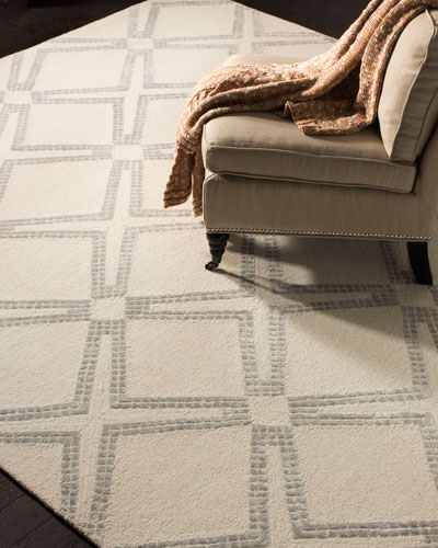 Leighton Hand-Tufted Rug, 4' x 6' and Matching Items