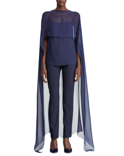 Andela Cape-Chiffon Silk Camisole and Matching Items