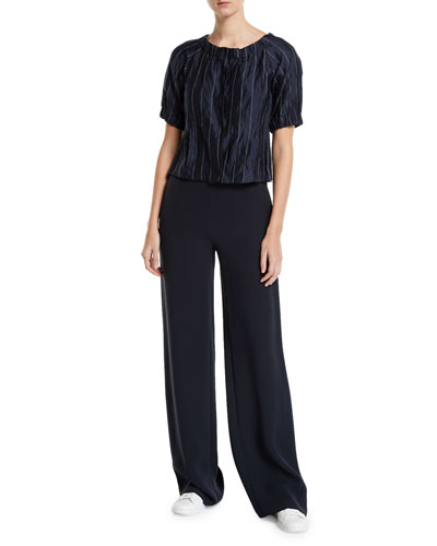 Midnight Classic Straight-Leg Pants and Matching Items