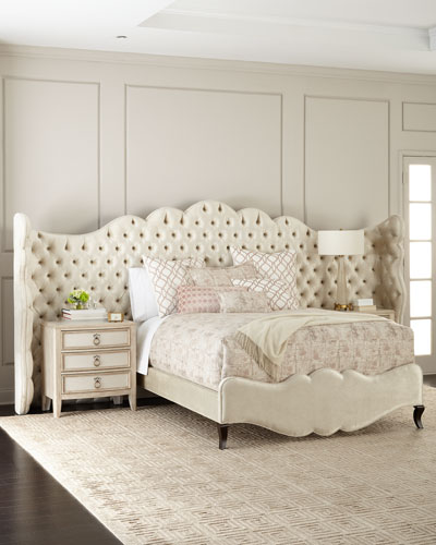 Adelie Queen Bed  and Matching Items