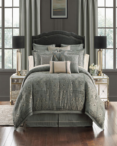 Dimitrios Reversible 4-Piece King Comforter Set  and Matching Items