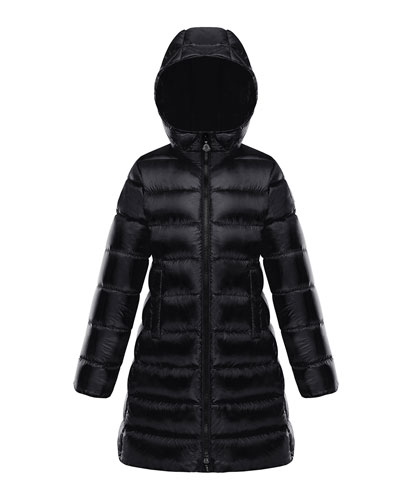 Suyen Hooded Long Puffer Coat  Sizes 4-6 and Matching Items