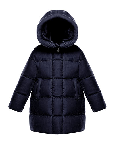 Butor Quilted Velour Jacket, Size 4-6  and Matching Items