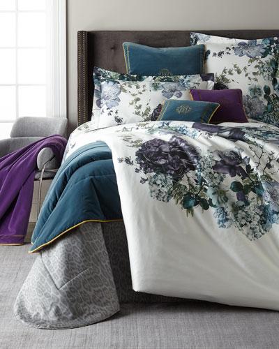 Floris Standard Shams  Set of 2  and Matching Items