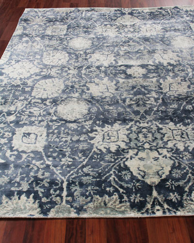 Emmlynn Hand-Knotted Rug, 9' x 12'  and Matching Items