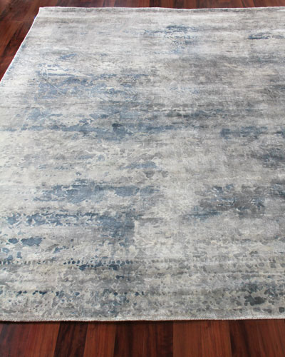 Yinlo Hand-Knotted Rug, 6' x 9' and Matching Items