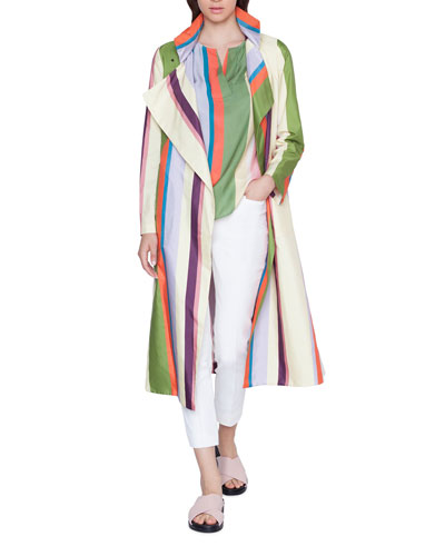 Memphis Glass Striped Raincoat and Matching Items