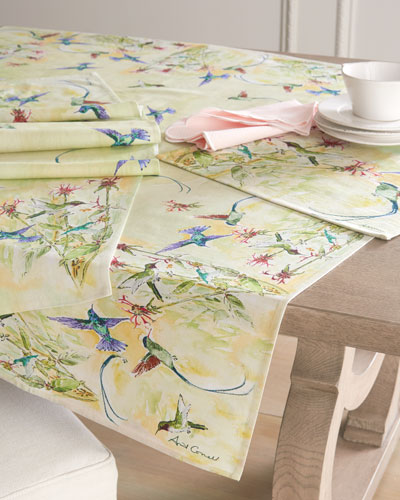 Hummingbird Placemats  Set of 4  and Matching Items