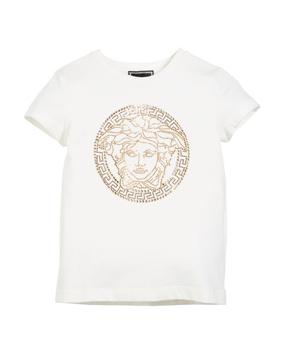 Medusa Head Strass Logo Tee  Size 4-6  and Matching Items