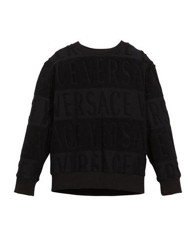 Spugna Logo Sweatshirt  Size 4-6  and Matching Items