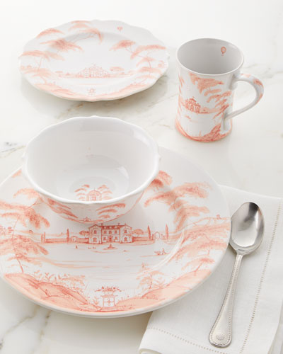Country Estate Petal Dinner Plate and Matching Items