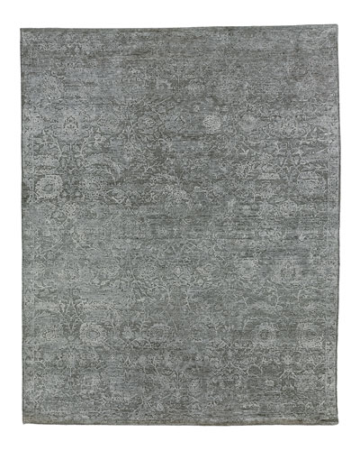 Augustin Hand-Knotted Rug, 6' x 9'  and Matching Items