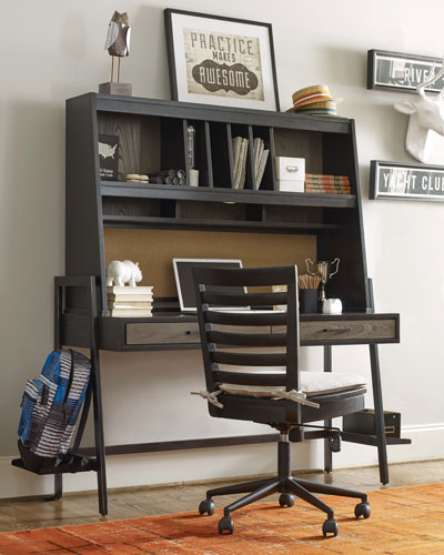 Charli Metal-Frame Desk  and Matching Items