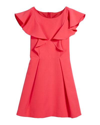 Italian Cady Ruffle Dress, Size 4-6  and Matching Items