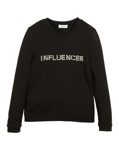 Influencer Pearly Long-Sleeve Top  Size 4-6  and Matching Items