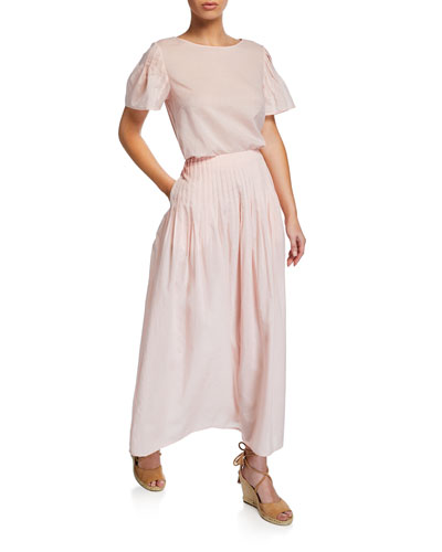 Yuma High-Waist Maxi Skirt and Matching Items
