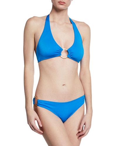 Santorini Halter Bikini Top and Matching Items