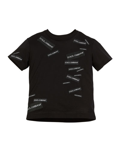 Logo Patches Short-Sleeve T-Shirt